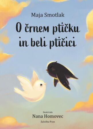 O črnem ptičku in beli ptičici